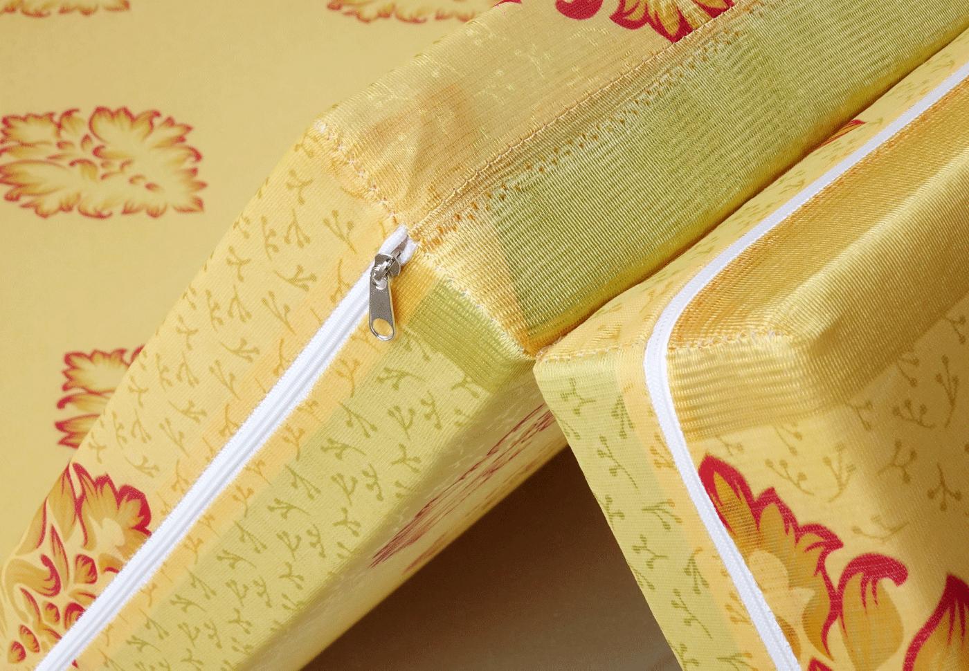 Nệm Gấp 3 Bông ép DUPONG (CITRINE)  vải Valize