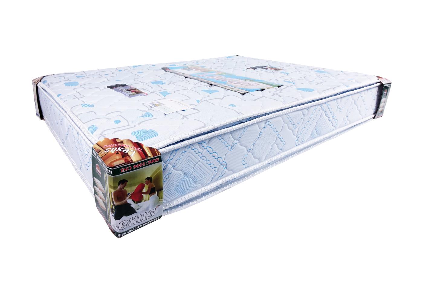 Nệm ép tổng hợp LEXUS  vải Xốp Gấm (4 Viền)