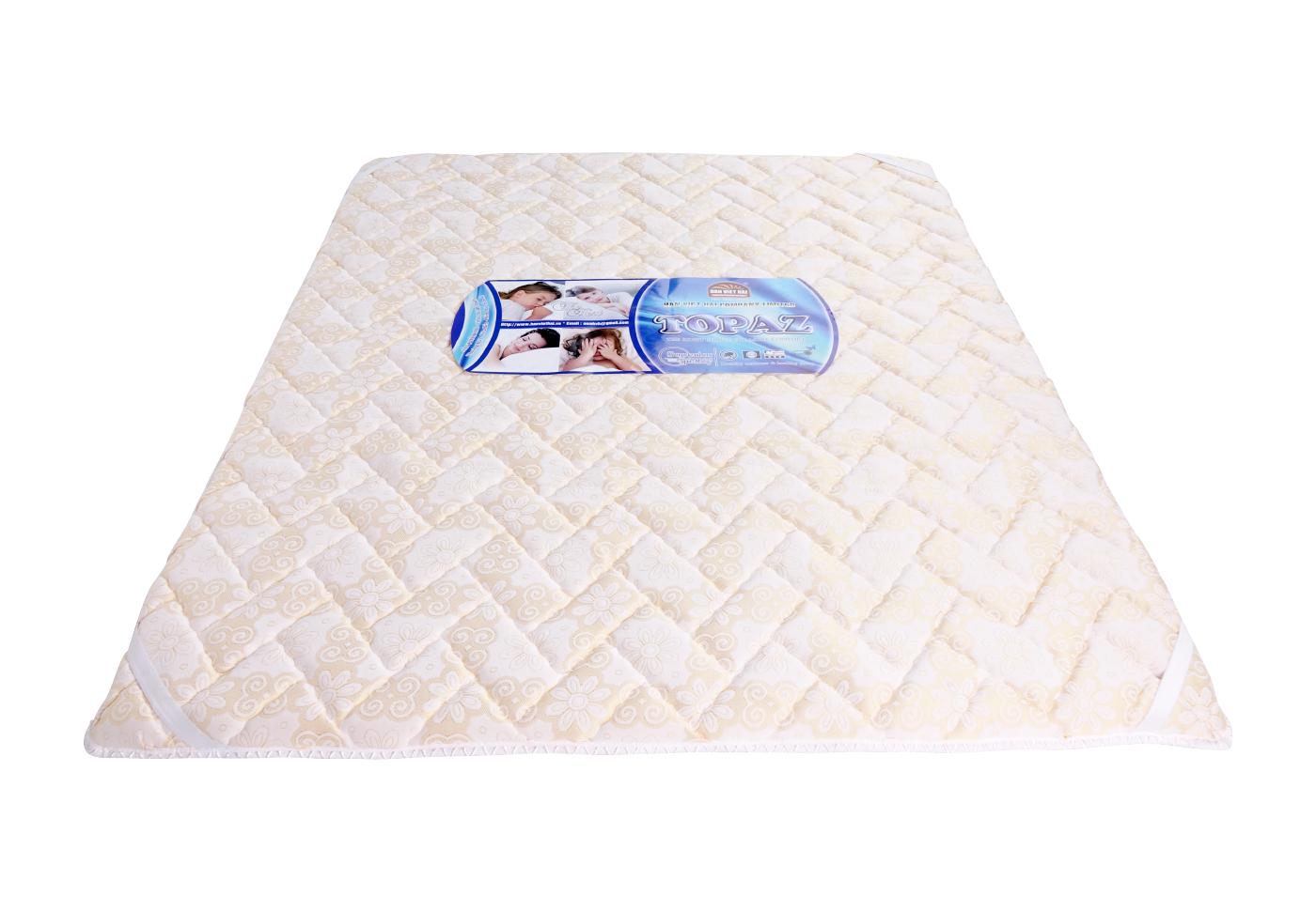 Nệm Ép tổng hợp TOPAZ vải xốp Gấm