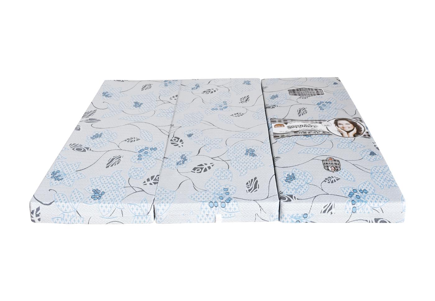 Nệm Gấp 3 PE Cao cấp SAPPHIRE Vải Xốp Gấm